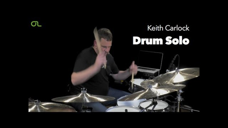 Keith Carlock Drum Solo at OnlineLessons