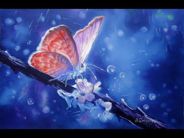🔝 ХуДоЖнИкИ Рисуем вместе! Волшебная страна, Александр Григорьев, картина маслом.