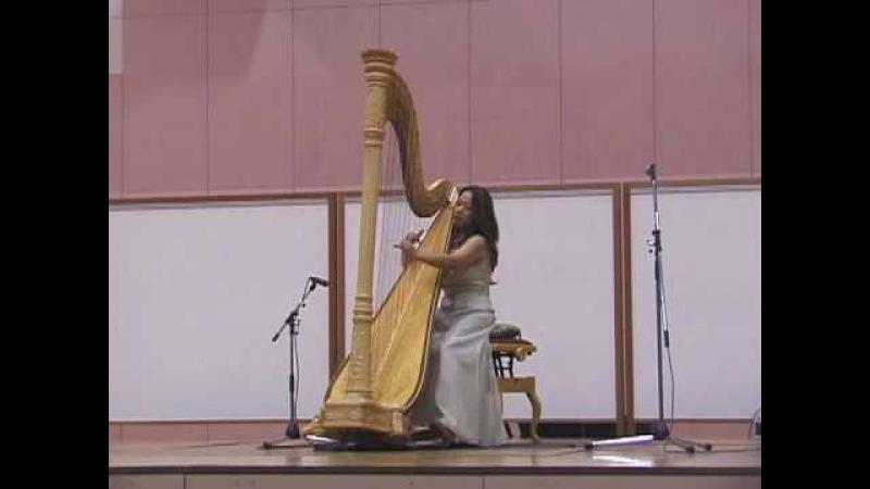 Fur Elise ..... Beethoven Harpist Kaori Otake