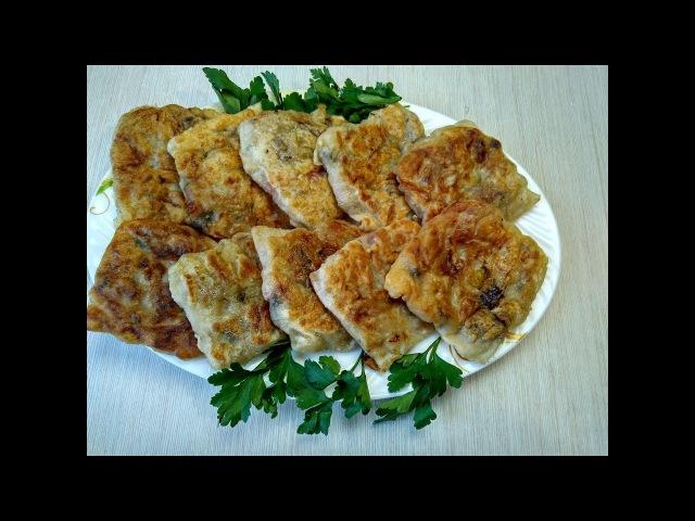 Настоящее ОБЪЕДЕНИЕ из картофеля, Да еще и с мясом! Быстрый и вкусный Ужин