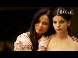 On Set With Sonia Ben Ammar for Harper's Bazaar Arabia