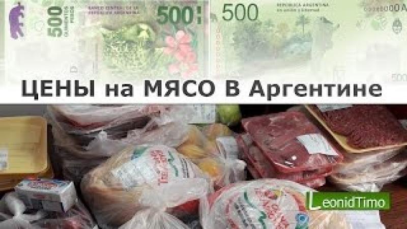Цены на мясо в Аргентине
