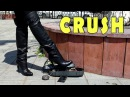 Crush fetish and Ethnic Song in Platform Overknee High heels Boots Gianmarco Lorenzi Size 39