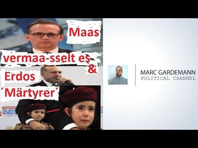 Merkel und Maas verzweifelt, Syrien, Flüchtlinge, unser IS, Erdogan, Zweiter Weltkrieg uvm.