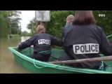 Полиция Франции за работой