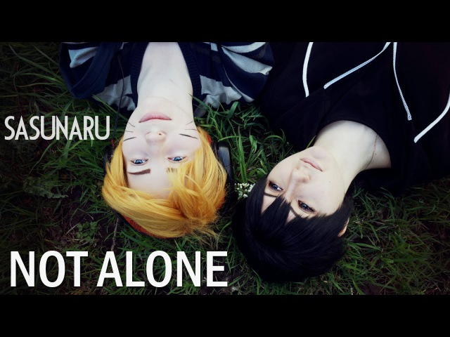 SasuNaru Not alone cosplay
