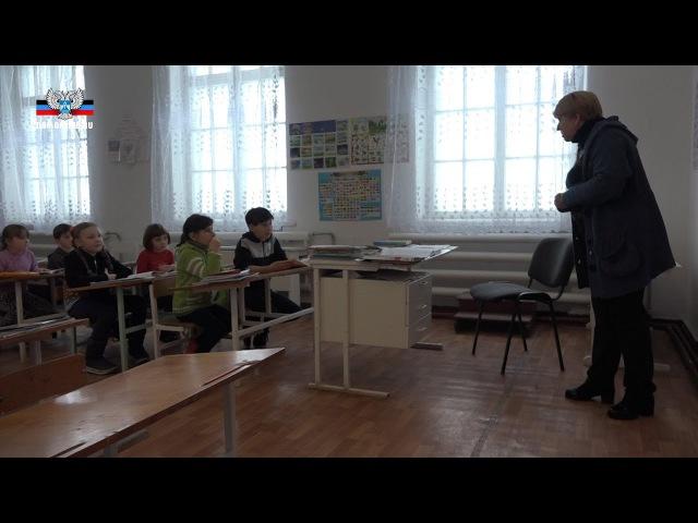 Директор Саханской школы прокомментировала учебный процесс в прифронтовом учреждении