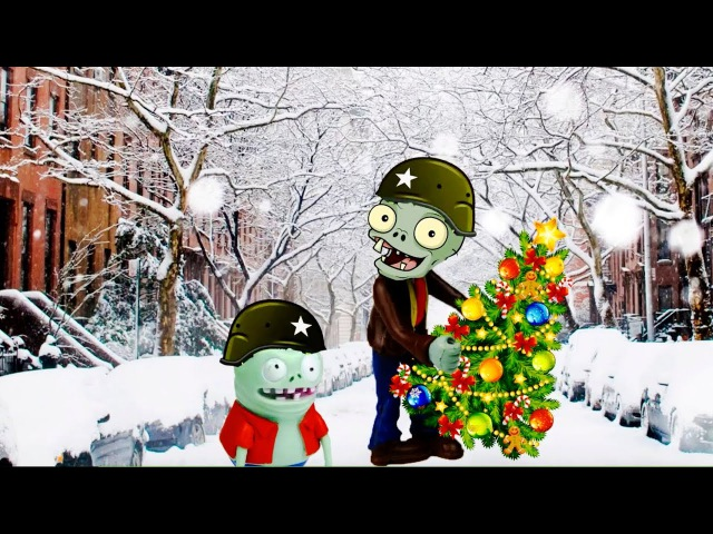 Happy New year Plants vs Zombies 2 in the City Playclaytv PVZ toys aliexpress Brainz Family
