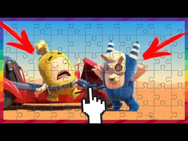 Oddbods - horror stories | PUZZLE GAMES FOR KIDS