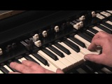 LESSON 6 - HOW TO PLAY JAZZ &amp ROCK LICKS ON A HAMMOND B3 or C3 ORGAN
