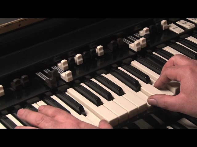 LESSON 6 - HOW TO PLAY JAZZ ROCK LICKS ON A HAMMOND B3 or C3 ORGAN