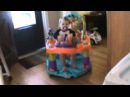 EXERSAUCER jumping baby sawyer jumping.wmv