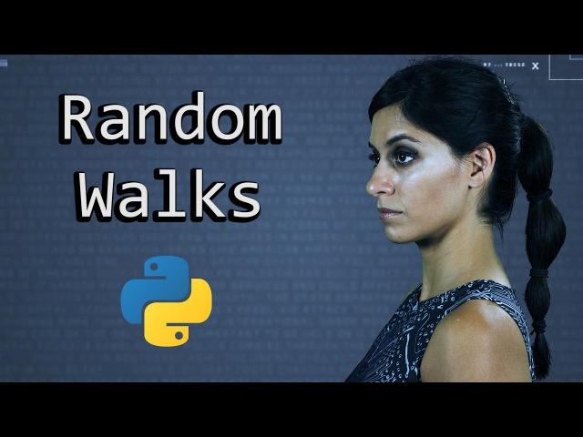 A Random Walk Monte Carlo Simulation || Python Tutorial || Learn Python Programming