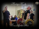 Виктор Блуд и Силачи Старой Школы - Тяга Апполон Аксель \ Apollon Axle deadlift