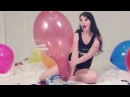 BRAND NEW LOONER BALLOON POPPING, BLOW TO PUMP BALLOONS, 25 INCHES QUALATEX BALLOON POPS, POPPING UP