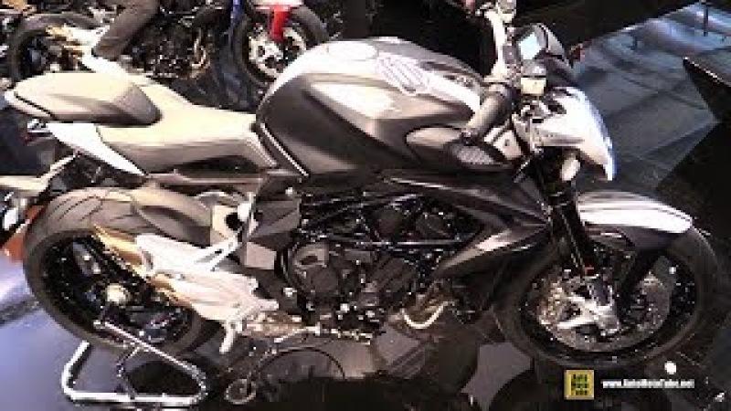 2018 MV Agusta Brutale 800 - Walkaround - 2017 EICMA Milan Motorcycle Exhibition