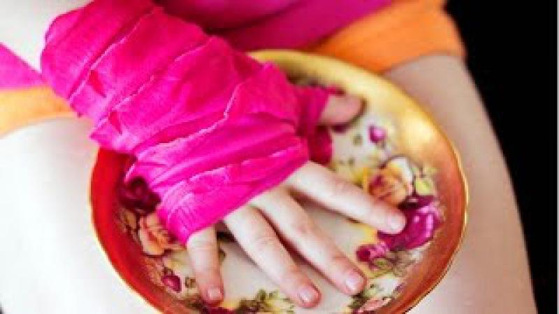 How to make sew Fingerless gloves easy