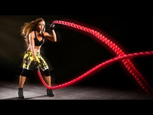 30-ка лучших упражнений с боевыми канатами на все тело! Best Battle Ropes Workout Ever (ПЕРЕЗАЛИВ)