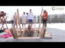 Праздник Крещения в деревне Новое Девяткино