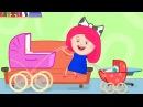 Eğitici çocuk çizgi filmi Smarta'nın sihirli çantası Kız kardeşine👶ÇINGIRAK Bebek bakma oyunu