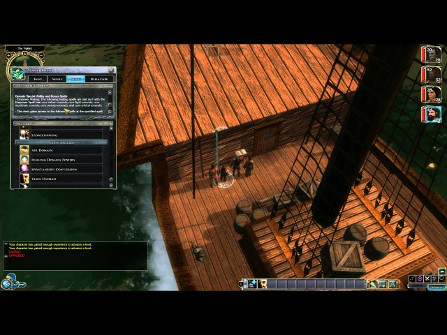 Mone plays Neverwinter Nights 2 Storm of Zehir 01 Character creation and introduction