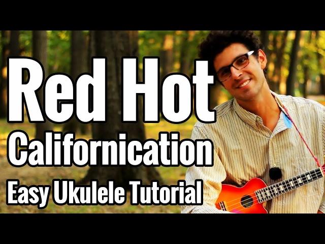 Californication - Ukulele Tutorial With Intro Riff, Solo Picking Tab Play Along