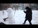 Как отпизеть снеговика