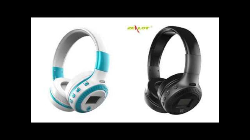 Bluetooth Headphone LCD Display Display HiFi Bass