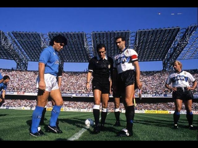 Napoli Inter 2 0 CARECA MARADONA 9ª giornata Andata 22 10 1989
