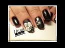 🌺 белая ОРХИДЕЯ на ногтях 🌺 ЧЕРНЫЙ маникюр 🌺 Гель лак FIORE 🌺 ЦВЕТЫ на ногтях 🌺 Дизайн ногтей 🌺