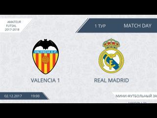 02.12.2017 Valencia-Real Madrid.Nizhny Tagil. Школа №21. Afl.
