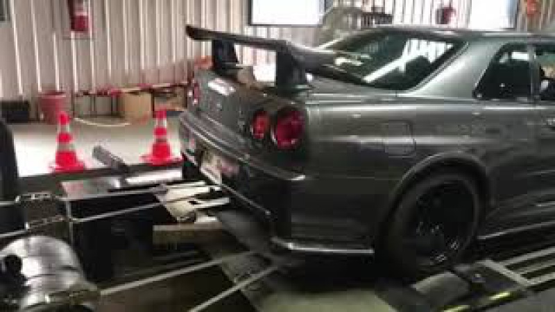 BungTuneVer : R34 GTT RB25 Neo Head RB26 670HP :HKS F-Con V Pro 3.3 Tune By BungTuneVer