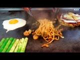 Teppanyaki in Hokkaido - Food in Japan