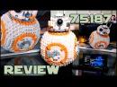 Lego Star Wars 75187 BB-8 Review Обзор на Лего Звёздные Войны 75187 ББ-8