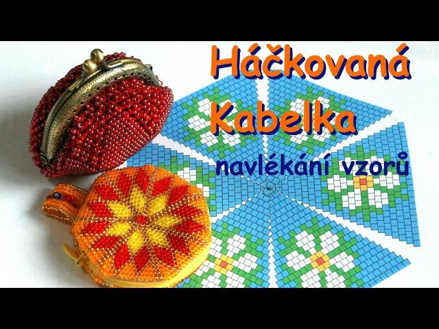 Návod - Háčkovaná Kabelka Bead crochet Bag
