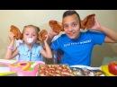 ЧЕЛЛЕНДЖ Свинные УШИ против МАРМЕЛАДА Обычная ЕДА Gummy FOOD vs Real FOOD Ghallenge