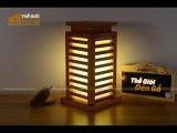 Đèn gỗ trang trí để bàn TGĐG-07