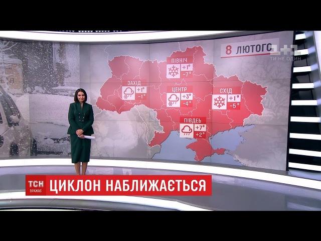 Циклон Мартіна принесе в Україну сильні сніги та дощі