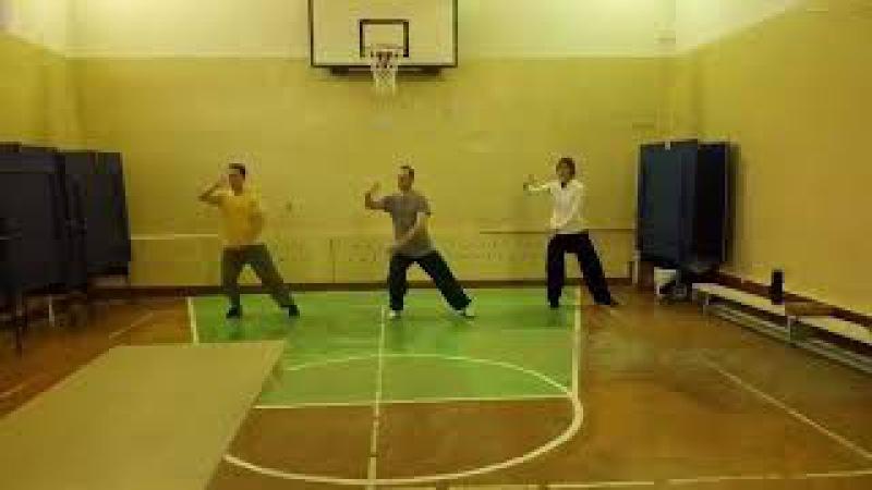Тайцзицюань. 8 форм Группа Хабаровск. 2 видео » Freewka.com - Смотреть онлайн в хорощем качестве