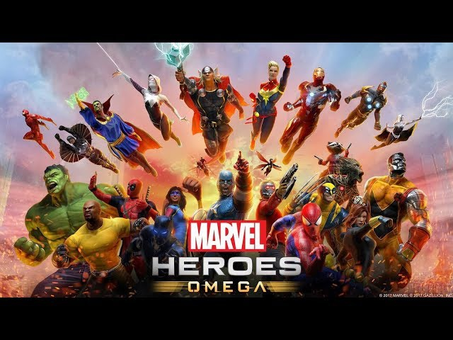 NEW MARVEL HEROES OMEGA MOVIE 2018! - ALL CUTSCENES! - PS4 - THE GAME! - AVENGERS! - FULL STORY!