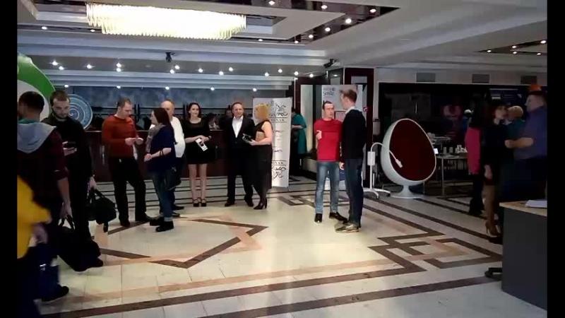 Парад невест. Нефтеюганск. Включение из фойе КЦ Обь