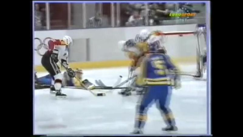 Лиллехаммер 1994. Швеция - Германия (23.02.1994)