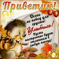 Осень Привет Позитив