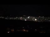 Пятигорск, 31.12.18 Новогодний фейерверк,вид с Эоловой арфы