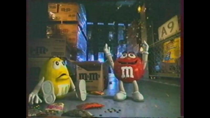 Реклама и анонс ОРТ осень 2000