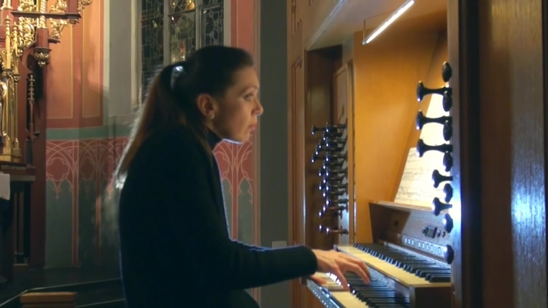 662 J. S. Bach - Chorale prelude Allein Gott in der Höh sei Ehr, BWV 662 - Katja Sager