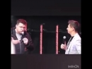 Гарик Харламов и Тимур Батрутдинов на концерте