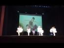 «Танец пап» Хореографическая студия «Кропелькi» танцует наш папа с Ксюшей