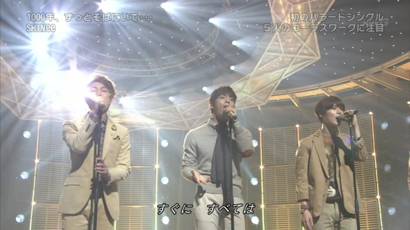 SHINee - 1000 Years, Always By Your Side (200113 on Music Japan)