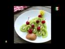 Come realizzare delle decorazioni natalizie con la frutta Как сделать елочные игрушки с фруктами